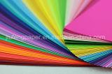 Coloré de papier teint de papier de pâte de bois de la qualité supérieur 160g