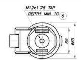 Footmaster Caster Wheels Gd-80s für Equipment oder Machine Heavy Furniture Wheels