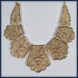 De nieuwe Bladeren van het Ontwerp van het Punt richten de Elegante Juwelen van de Halsband van de Manier