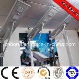 Diferente vatios económica de Certificación de la calle solar integrado LED luz de calle 90 vatios de luz LED Ce Cc