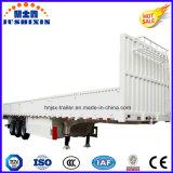Lado de grande resistência da parede do Tri-Eixo do aço 40FT/placa lateral/reboque de trator caminhão da cerca com lado da gota