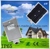 Économie d'énergie toute dans un réverbère solaire Integrated de DEL 6W
