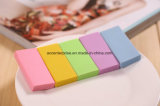 Color Eco-Friendly Kids Eraser, Logo publicitaire imprimé Fluorescent Color Eraser