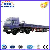 ISOの適正価格のCCCによって承認される高品質の三車軸側面または側板または塀ユーティリティ半トラックのトレーラートラック販売法