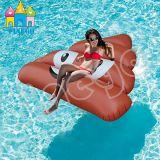 Wasser-Spielzeug-aufblasbare Erdbeere-sich hin- und herbewegender Scheiße-Schemel-Rückstände-Pool-Gleitbetrieb