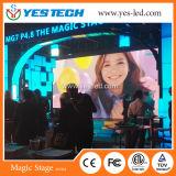 Magischer Stadium P4.8 im Freien farbenreicher LED-Bildschirm für Stadium und das Bekanntmachen