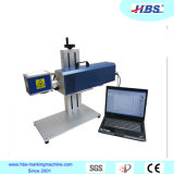 Máquina de la marca del laser del CO2 de la tapa de vector para el plástico/el caucho/el papel/la marca de cuero