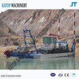 Dredger de mines de sable de 8 pouces avec pipeline de décharge de 1000 m