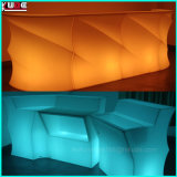 Multi Color LED Barra Industrial-Style Bar y contador heces