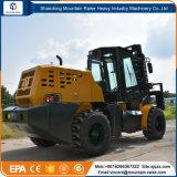 Diesel 3500kg chinês da fábrica 4.5m todo o Forklift do terreno áspero