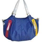 가죽 /Tote 직물 핸드백 (BS8963)를 가진 직물 핸드백