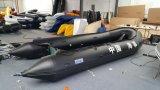 Canto Haoyu Barco Novo Modelo Diâmetro do tubo inflável Ultrapassagem de 60 Cm Barcos de velocidade 5.6 M 18.4FT Fishing Boat Omnibearing Protection