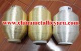 Filato metallico dell'oro di colore puro d'argento puro del bronzo
