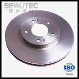 Disco ventilado Lb823325xa del freno de la fábrica de China para Mazda