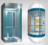 China Elevador Fabricação elevador panorâmico da tecnologia do Japão (redondo ou quadrado)