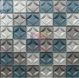 3D Mozaïek van de Decoratie van het Glas van het Kristal van de Straal van het Water Scherpe voor Muur (CFC685)