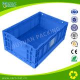 Caixa plástica movente da fruta do engranzamento Stackable