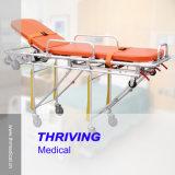 Krankenhaus-Krankenwagen Strecher Laufkatze (Aluminiumlegierung)