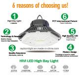 À prova de sensor de movimento do Comando Dali Glarefree 200W Warehouse High Bay LED da lâmpada