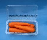 Las cubiertas de la ampolla de plástico desechables bandeja de embalaje de pimienta con la FDA