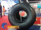 Tubos interiores butílicos 10.00r20 1100r20 1200X20 del neumático del carro