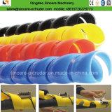 Macchina di plastica di spostamento a spirale dell'espulsore del tubo della fascia del cavo di collegare del PE \ pp