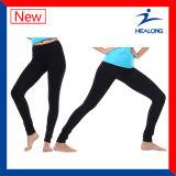Healong Schnitt und genähte Farben-Yoga-Gamaschen-kurze Hose der Fertigkeit-zwei