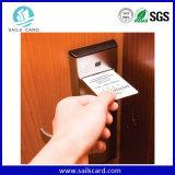 Cartão chave cifrado CI do contato do hotel