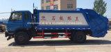 12 T는 패물 12 톤 쓰레기 압축 분쇄기 쓰레기 트럭 12 Cbm 트럭을 모으고 수송한다