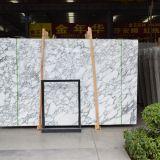 Mattonelle della lastra di Arabescato dei 2017 commerci all'ingrosso, pietra di marmo bianca