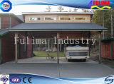 Carport fácil/pabellón del marco de acero de la instalación para la familia (FLM-C-009)