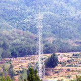 Télécommunication Power Transmission Steel Tower
