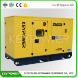 Kleiner leiser Typ Energien-Dieselgenerator-Farben-Rot