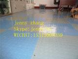 Revêtement de sol en caoutchouc écologique commercial, sol en caoutchouc intérieur coloré
