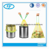 Bolsos de basura plásticos de encargo del lazo
