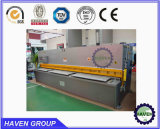 Metal de la esquila de guillotina hidráulica la máquina para la placa de acero