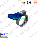 Vente chaude 125mm 280mm 201 304 colliers de la conduite de brise de solides solubles