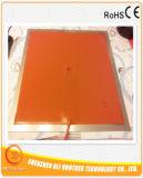calentador eléctrico flexible del caucho de silicón de 12V 180W 450*50*1.5m m