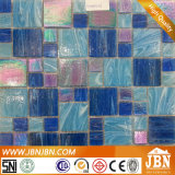Пасмурная мозаика синего стекла для бассеина (H455001)