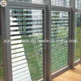 6 mm de vidro da fresta de venezianas, estores de vidro para a janela de vidro