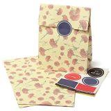 زهرة تصميم [برينتينغ ببر] هبة حقيبة صنع وفقا لطلب الزّبون تصميم [برينتينغ ببر] هبة حقيبة جزء [ببر بغ]
