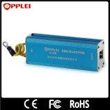 Protecteurs d'alimentation Ethernet simple canal protections contre la foudre en acier inoxydable