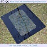 vetro Tempered del blocco per grafici di 6-10mm di stampa nera della matrice per serigrafia, mensole di vetro
