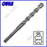 Sandblasted SDS plus Schaft-elektrischer Hammer-Bohrer