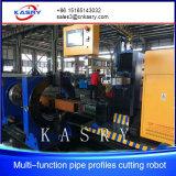 Tagliatrice d'acciaio di CNC quadrato vuoto del tubo e del tubo Kr-Xf8