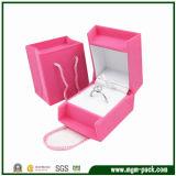 Form-Handtaschen-geformter Plastikschmucksache-Ring-Kasten
