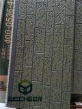 Украшение стены Colorbond пены полиуретана и панель сандвича изоляции