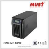 Moet LCD IGBT van de Hoge Frequentie Uninterruptible Levering van de Macht 3kVA UPS