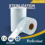 Instrumentos médicos calentar la muestra sello de esterilización carrete