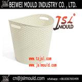 Moulage en plastique personnalisé de la meilleure qualité de panier de blanchisserie de rotin